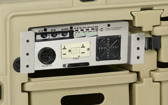 Rugged Tactical Desk 500 VA or 1000VA Global Power Conditioner